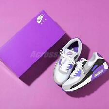 Nike Air Max 90 OG White Grey Hyper Grape Purple Mens Womens Shoes Pick 1