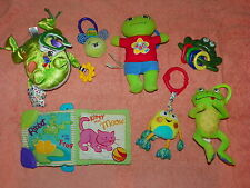 7 Activity Toys Rattle Abc Singing Leap Frog World Of Eric Carle Gym Attachments