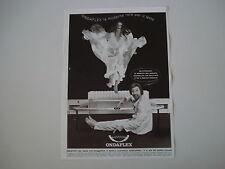 advertising Pubblicità 1972 RETE PER LETTO ONDAFLEX