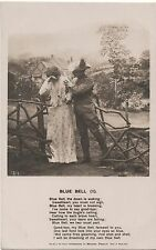 POSTCARD  SONG CARDS  Blue Bell (1)