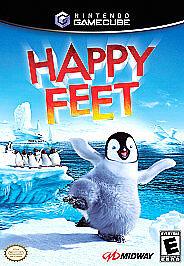 Happy Feet (Nintendo GameCube, 2006) COMPLETE Movie Ticket Insert Paperwork