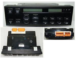 1993 1994 LEXUS LS400 Climate Control Reman Rebuilt New LCD New Bulbs Warranty