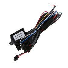 12v Car DRL Daytime Running Lights Relay Harness Control On/Off Switch Kit