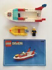Vintage LEGO SYSTEM Town Blaze Responder Fire Boat Set # 6429