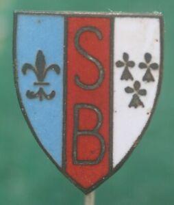France Armoricaine de Brest FC Football Club Enamel Pin Badge Calcio Distintivo