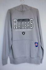 Oakland Raiders Reebok NFL Hoodie Sweatshirt Jumper L / XL