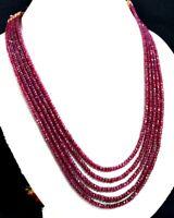 Natural 2//3//4//5 Multi Brins Multi Tourmaline 4 Mm Facette Perles Collier De Pierres Précieuses