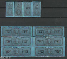 B. 186 - US stamps, Cigar stamps, Class A, Serie 123, 1953
