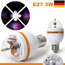 DE E27 RGB 3W Kristallkugel Rotierende LED Bühnenlicht Glühbirnen DJ Disco Party