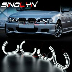 C-ring DTM Angel Eyes For BMW E46 Coupe Convertible 325ci 330ci Xenon Headlight