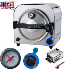 New Listing900w 14 L Dental Lab Autoclave Steam Sterilizer Medical Sterilization Equipment