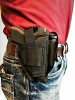Nylon Side holster With Magazine Pouch For Smith & Wesson M&P Shield 40,9mm