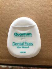 144 Quantum waxed mint dental floss 18 Yards each