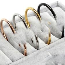 Love Nail Screw Bangle Cuff ROSE GOLD Titanium Bracelet 316L Stainless Steel