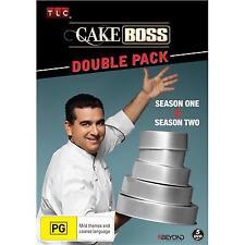 Cake Boss Season 1 & 2 Double Pack (DVD x 5, 2015) Region 4