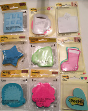 Post-it Sticky Notes, Assorted Types & Colors, Choose