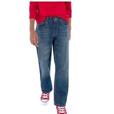 Levi's 505 Boy's 14 Slim 25x27 Medium Wash Denim Blue Jeans
