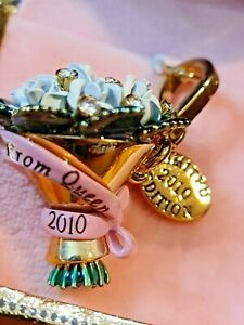 JUICY COUTURE Limited Edition Charm Prom Queen Bouquet RETIRED 2010 NEW in BOX