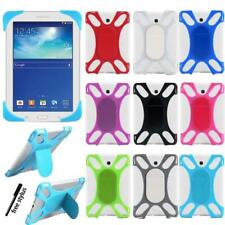 For Samsung Galaxy Tab 2/3/4 - Silicone Soft Back Stand Shockproof Cover Case