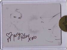 Benchwarmer Ultimate High Heel Mary Riley autograph auto printing plate card 1/1