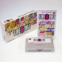 LIVE A LIVE Nintendo SFC Super Famicom Japan Import RPG SNES NTSC Boxed Complete