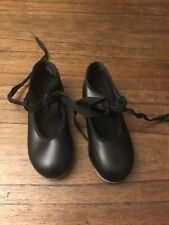 Girls Tap Shoes UK Child Size 9.5 M - Capezio