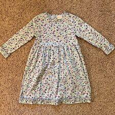 HANNA ANDERSSON PRETTY LONG SLEEVED DRESS (120) 6-7 EUC