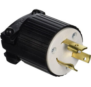 Cooper Electric Locking Plug Twist Lock L6-20 20A 250V L620P