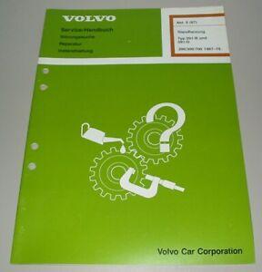 Werkstatthandbuch Volvo 240 242 244 245 340 360 740 760 780 Standheizung 091-B D
