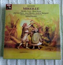 GOUNOD: MIREILLE - 3 MUSIC CASSETTES - NEW AND SEALED-FREE SHIPPING