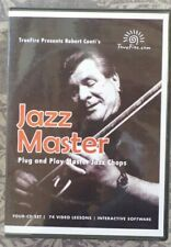 TrueFire Jazz Master by Robert Conti 4 CD ROM Course
