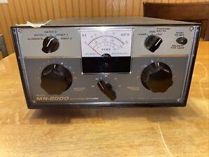 Drake MN-2000 Vintage Ham Radio Matching Network Nice physical & working shape!