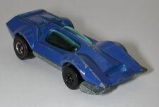 Redline Hotwheels Blue Enamel 1973 Bugeye ERROR oc13231