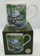 fine china fishing mug