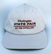 Washington STATE FAIR DO THE PUYALLUP! Adjustable Strapback Dad Hat Baseball Cap