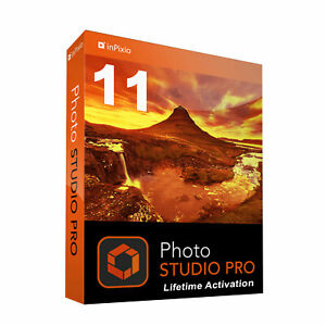 inPixio Photo Studio 11 ULTIMATE FULL License, Very Fast Delivery, Get it TODAY