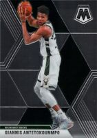 Giannis Antetokounmpo 2019-20 MOSAIC Veterans Base Card #75 Milwaukee Bucks NBA