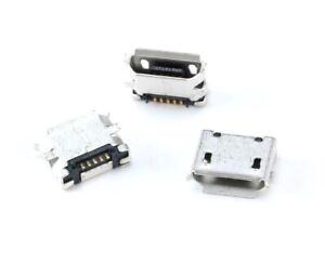 Micro USB Type B Female 5 Pin Socket SMT PCB Mount Solder Connector x5