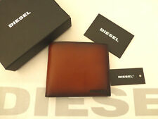 DIESEL Card Wallet Neela 036 FADE OUT Brown Bifold Leather Wallets BNIB RRP£65