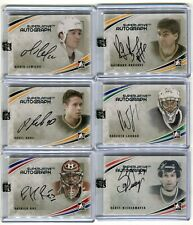 2012-13 ITG Superlative Autographs Silver  #APB Pavel Bure /20
