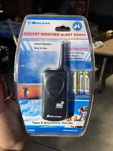 Midland HH50B Pocket Weather Alert Radio 7 Preset Weather Channel New Sealed