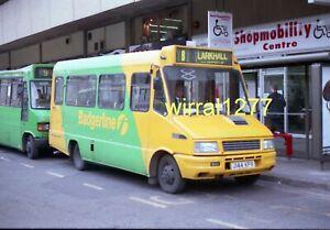 Original Bus negative Badgerline Iveco J144KPX
