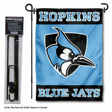 Johns Hopkins Blue Jays Garden Flag and Yard Stand Included