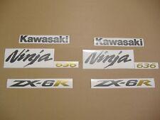 ZX6R 2006 ninja full decals sticker graphics set kit 636 adhesivi aufkleber 05