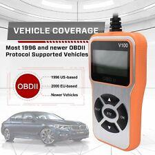 Car OBD2 Scanner Automotive Fault Code Reader Vehicle Diagnostic Scan Tool US