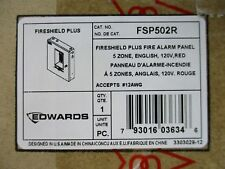 (NEW) EDWARDS FSP502R - CONVENTIONAL FIRE ALARM CONTROL PANEL