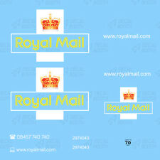 ROYAL MAIL DECALS 1/50 SCALE- WHITE INK
