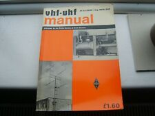 La radio society of Great Britain VHF UHF Manuel G.R. Jessop G6JP Radio Amateur
