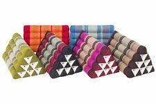 Thaikissen Dreieck verschiedene Farben Kapok Kissen Nackenkissen Stützkissen