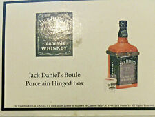 New ListingPhb Midwest Of Cannon Falls Trinket Jack Daniels Bottle W Glass Rare D85